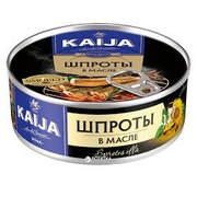 Kaija Sprats in Oil 160g