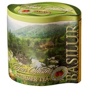 Basilur Four Seasons Summer Green Leaf Tea 125g