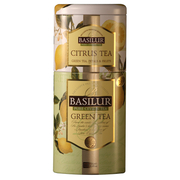 Basilur Fruit & Flowers Citrus Green Tea Caddy 125g