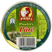 Profi Poultry Pate with Dill 131g