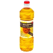 Kubanochka Sunflower Oil Unrefined Top Grade 1L