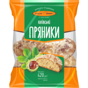 Kievbread Gingerbreads Kiev with Poppy Seeds 420g