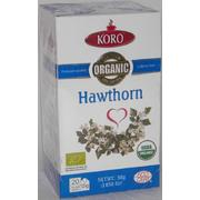 Koro Organic Hawthorn Herbal Tea 30g