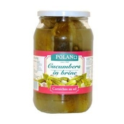 Polan Cucumbers in Brine 900g