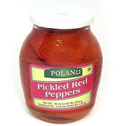 Polan Pickled Red Peppers 850g