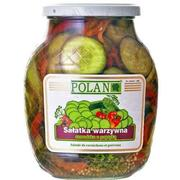 Polan Dill Cucumbers with Sweet Pepper 840g