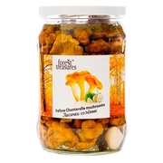 Forest Treasures Yellow Chanterelle Mushrooms Salted  530g