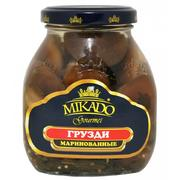 Mikado Pickled Shiitake Gruzdi 530g
