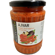 Konex Food Ajvar Pepper and Eggplant Spread Hot 550g