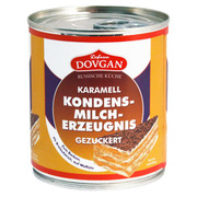 Dovgan Sweetened Caramel Condensed Milk with Sugar 397g
