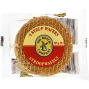 The Dutch Company Stroopwafels Syrup Waffles 4pcs 125g