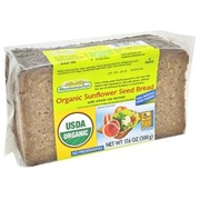 Organic Sunflower Seed Rye Bread 500g, Kosher K-Parve, Wheat Free, Mestemacher