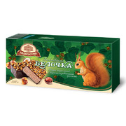 Babaevsky Wafer Cake with Caramelized Hazelnuts Belochka 250g