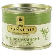 Jean Larnaudie Duck Pate Terrine with Green Pepper 65g