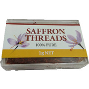 Chef's Choice 100% Pure Premium Quality Saffron Threads 1g