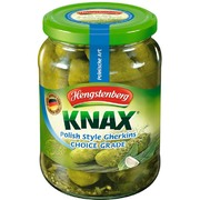 Hengstenberg Knax Polish Style Gherkins Choice Grade 720g