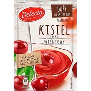 Delecta Water Based Pudding Kissel Jelly Cherry 58g