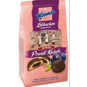 Manner Chocolate Coated Gingerbreads with Plum 180g