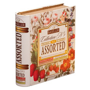 Basilur Assorted Tea Collection No.1 Metal Caddy 32 Sachets