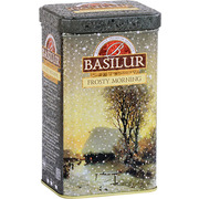 Basilur Frosty Morning Loose Leaf Tea Metal Caddy 85g