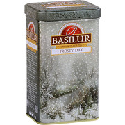 Basilur Frosty Day Loose Leaf Tea Metal Caddy 85g