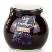 Opies Blackberries with London Dry Gin 460g