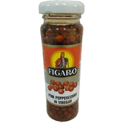 Figaro Pink Peppercorns in Vinegar 100g