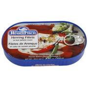 Rugen/Tania Herring Fillets in Hot Tomato Sauce 200g
