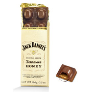 Goldkenn Jack Daniels Tennessee Honey Liquor Swiss Chocolate Bar 100g