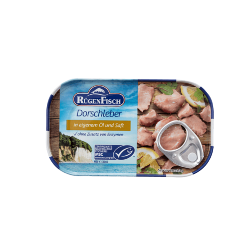 Rugen Cod Liver in Oil Canned 120g