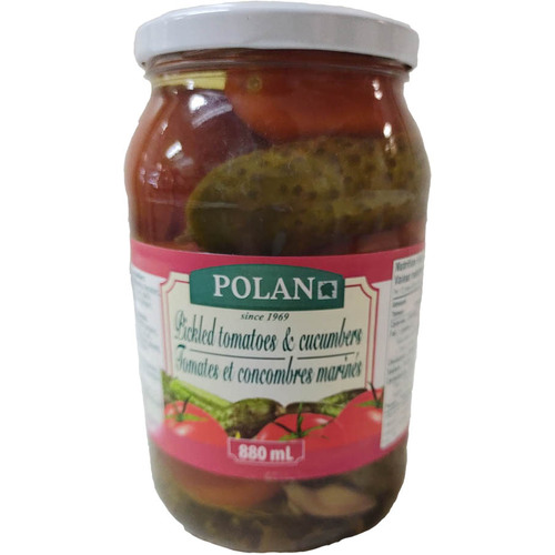 Polan Pickled Tomatoes and Cucumbers 880ml