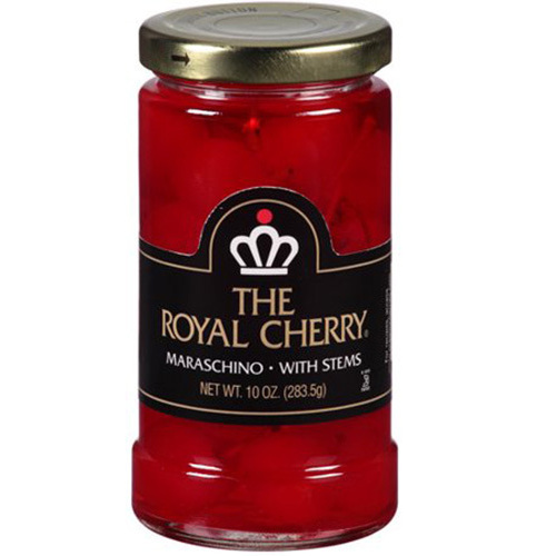 The Royal Cherry Maraschino with Stems 283g